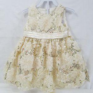 🌷American Princess Infant Girls Sequin Dress